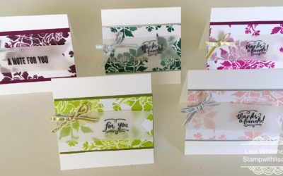 Fresh Florals mini cards